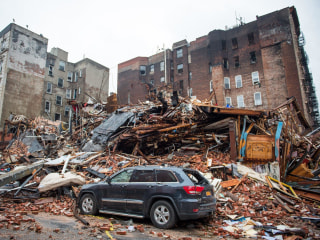 Search Efforts Continue for 2 Missing in NYC Blast