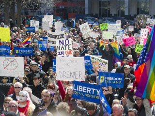 Indiana's 'Religious Freedom' Law Sparks Protests, Boycotts