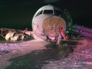 Air Canada Airbus A320 Skids off Halifax Runway, Sending 25 to Hospital