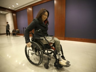 Iraq War Vet, Double Amputee Tammy Duckworth is Running for Senate