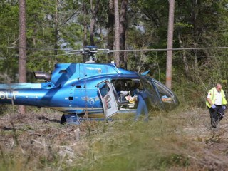Two Killed When Forest Service Helicopter Crashes in Mississippi