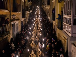 Holy Week Processions Light Up the Night in Spain
