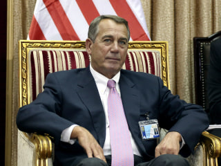 House Speaker John Boehner Visits Middle East to Discuss ISIS, Iran