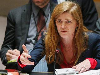 Samantha Power: U.S. Seeking Culprit for 'Monstrous Weapon' in Syria