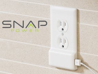 SnapPower Adds a USB Plug to Electrical Outlets - No Wiring Necessary