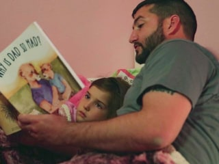 'Why Is Dad So Mad?' Veteran Writes Book to Explain His PTSD to His Daughter