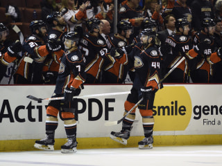Ducks Win 50th Game, Clinch Division Title