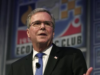 Jeb Bush Says He Won't 'Disparage' Likely Rival Marco Rubio