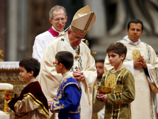 Pope Francis Calls Armenian Slaughter '1st Genocide of 20th Century'