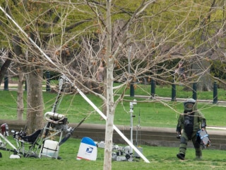 Gyrocopter Lands on Capitol Lawn in Tax Day Stunt