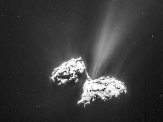Comet Shines in Rosetta Mission's Time-Lapse Gallery