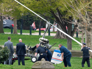 Gyrocopter Pilot, Doug Hughes, Frustrated His Message Isn't Getting Through