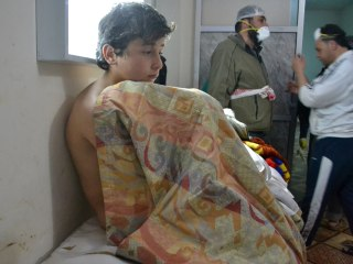 Tears as U.N. Council Hears From Witness to Alleged Syrian Chlorine Attack