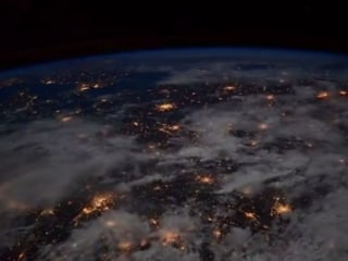Stunning View of Europe at Night Captured From Space