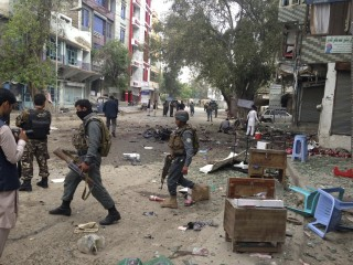 Jalalabad Suicide Attack: 36 Die As Bomber Hits Crowds Near Bank