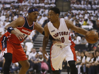 Paul Pierce Leads Wizards to Game 1 Win Over Raptors
