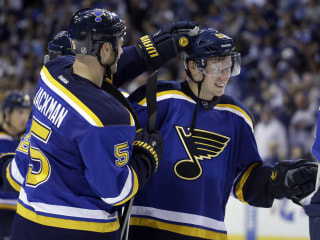 Tarasenko's Hat Trick Helps Blues Even Series With Wild