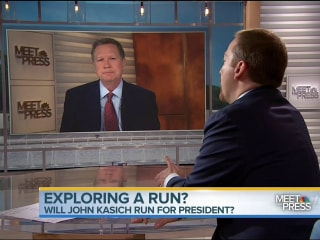 Gov. John Kasich on 2016: 'All My Options Are On the Table'