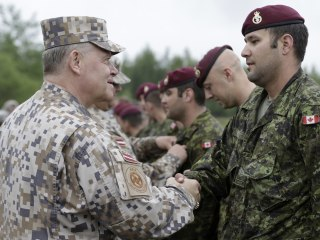 U.S. 'Crucial' to Latvia as Russian Troops Build on Border: Defense Chief