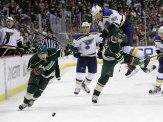 Wild Dominate Blues To Go Up 2-1 in NHL Playoff Series