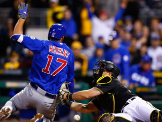 Cubs' Kris Bryant Touches All the Bases in Wild Series of Errors