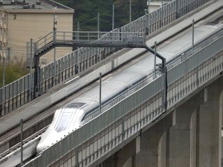 Japan's Maglev Train Breaks World Speed Record, Again