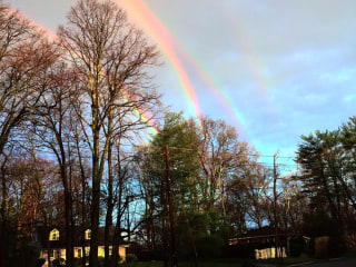 Two Double Rainbows? OMG! Lucky NY Woman Captures Quad 'Bow