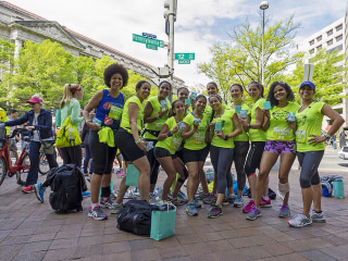 Voices: From Breakup to Running With Other Latinas For A Purpose