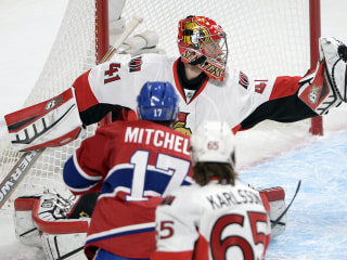 Anderson Stymies Canadiens Again as Senators Roll, Force Game 6
