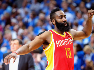 Harden Scores 42 Points as Rockets Push Mavericks to Brink
