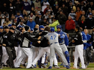 MLB Suspends Six Players After Royals-White Sox Brawl