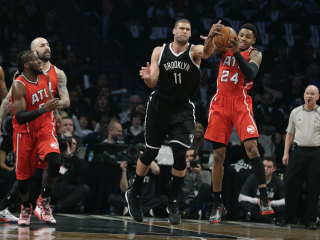 Nets Climb Back Into Series With Win Over Hawks