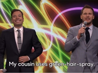Chris Pratt and Jimmy Fallon Sing Karaoke