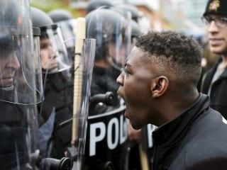 At Least 1,000 Protest Police Custody Death of Freddie Gray