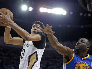 Warriors Sweep Pelicans to End Anthony Davis' First Postseason