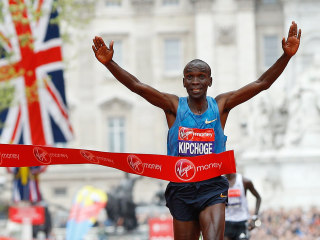 Kenya's Eliud Kipchoge Wins London Marathon