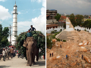 Kathmandu's Historic Dharahara Tower Reduced to Rubble