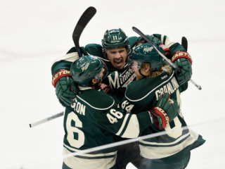 Stanley Cup Playoffs: Wild Win Game 6 to Eliminate Blues