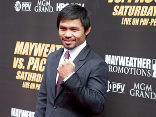 Pacquiao Announces 2016 Plans to Run for Senate in Philippines