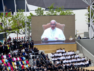 Pope Warns of 'Culture of Waste' as Italy opens Milan Expo 2015