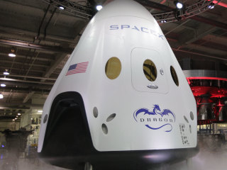 Buster the Dummy Preps for Mile-High Ride Aboard SpaceX Capsule