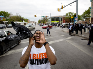 Baltimore Reacts After Police Officers Charged in Freddie Gray Death