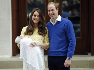 Kate and William Leave Hospital With New Baby Girl