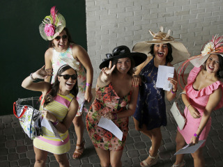 Hats Off: Derby Fans Show Off Favorite Fashion Accessory