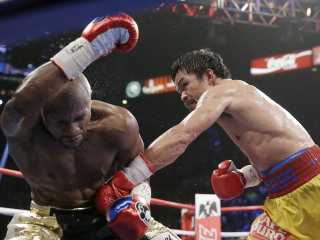 Manny Pacquiao Says Shoulder Injury Limited Him in Loss to Mayweather