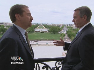 Boehner on Capitol Security Lapses: 'We Face Different Threats Than We Used To'