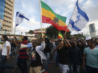 Israel's Jewish Ethiopian Minority Rallies Against Racism