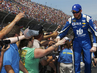 Dale Earnhardt Jr. Wins NASCAR Sprint Cup Race in Talladega