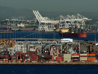 Truckers Strike at Largest Port Complex in U.S.