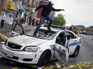 Baltimore Erupts in Violence After Freddie Gray Funeral